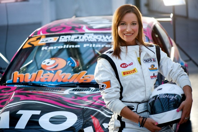 "Karolina Pilarczyk ""Polish Drift Girl"" !"